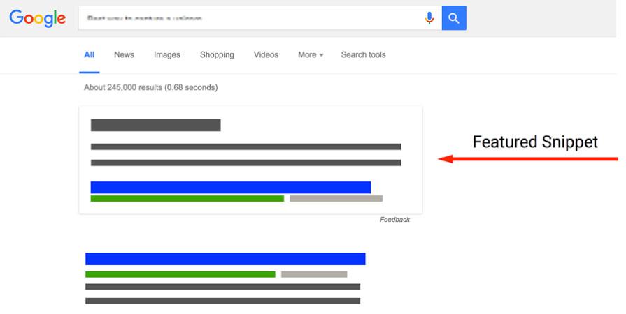 Featured snippet, czyli jak być na szczycie w Google