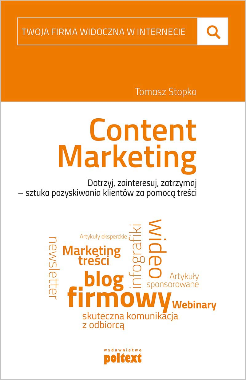 Content Marketing Tomasz Stopka