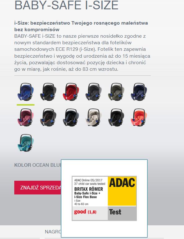 Opisy produktów muszą zawierać potwierdzone informacje - Test ADAC