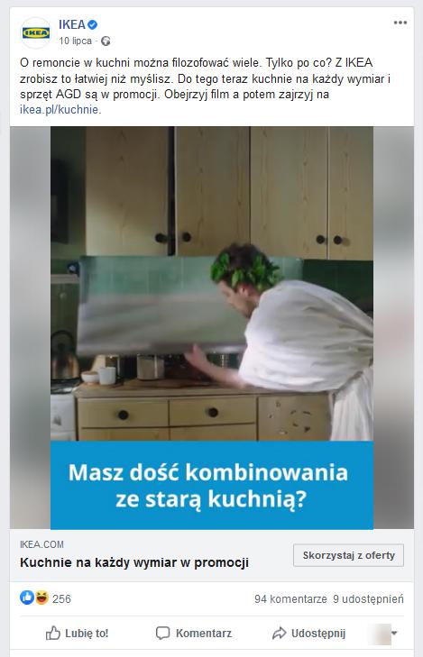 Przykład postu – video